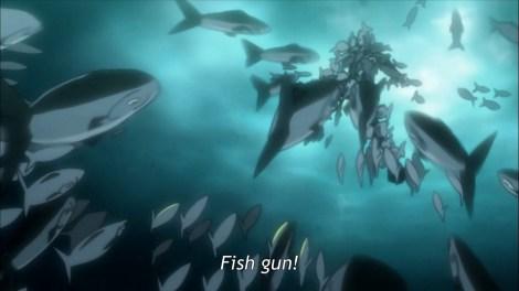 Fish gun!